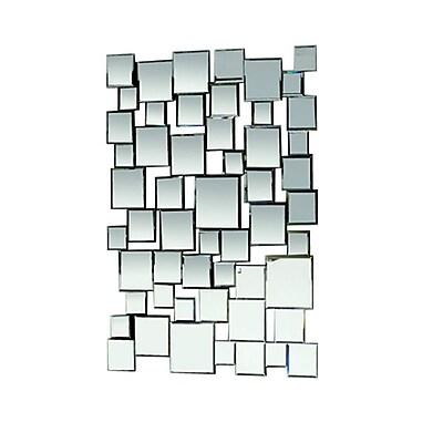 Fine Mod Imports Cube Mirror, (FMI10112)