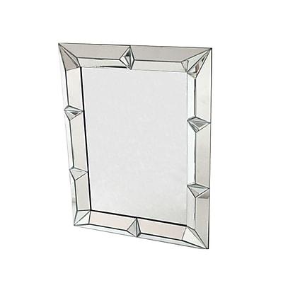 Fine Mod Imports Square Mirror, (FMI10122)