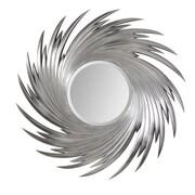 Fine Mod Imports Wave Mirror, (FMI10131)