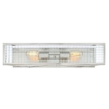 Designers Fountain Pivot 2-Light Bath Bar
