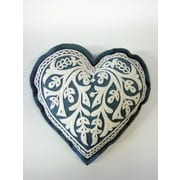 The Sandor Collection Bihar Heart Wool Felt Boudoir/Breakfast Pillow