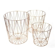 Donny Osmond 3 Piece Metal Basket Set