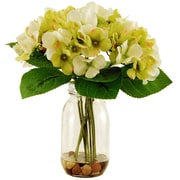 LCGFlorals Hydrangeas in Jar; Green