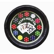 RAM Game Room Clock; Texas hold'em