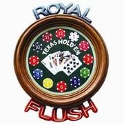 RAM Game Room Clock; Royal Flush