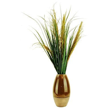 LCGFlorals Phoenix Palm Desk Top Plant in Decorative Vase