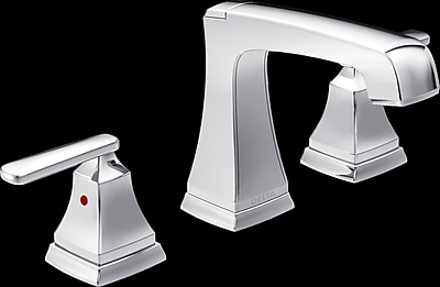 Ashlyn Mini-Widespread Double Handle Bathroom Faucet w/ Drain Assembly and Diamond Seal Technology