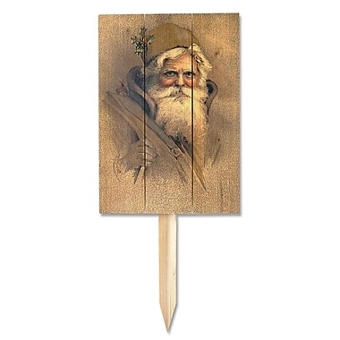 Daydream HQ Father Christmas Wile E Garden Stake