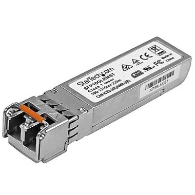 StarTech® 10 Gigabit Fiber SFP+ Transceiver Module, Cisco SFP-10G-LRM Compatible, MM LC, 220m