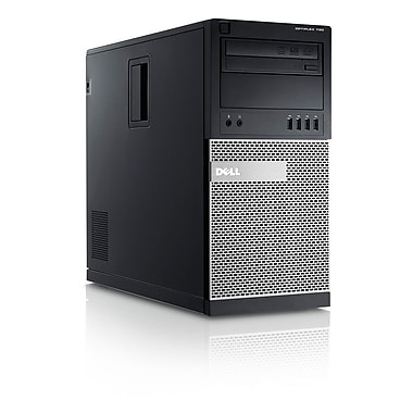 Dell Optiplex 790 Refurbished Mini Tower, Intel Core i3 2120 3.3GHz, 4GB RAM, 250GB HDD, Windows 10, (OPTIPLEX790)