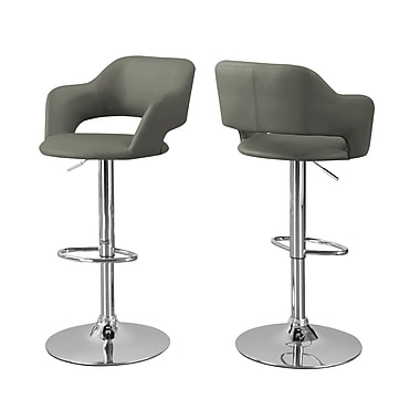 Monarch I 2364 Barstool, Light Grey