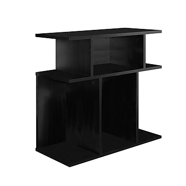 Monarch – Table d'appoint I 2473, 24 haut. (po), noir