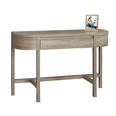 Monarch – Table d'appoint I 2557, 48 long. (po), avec un tiroir de rangement, taupe foncé