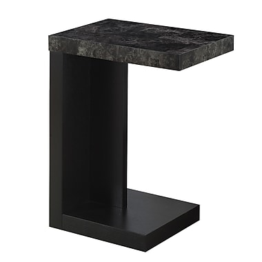 Monarch I 3211 Accent Table, Black