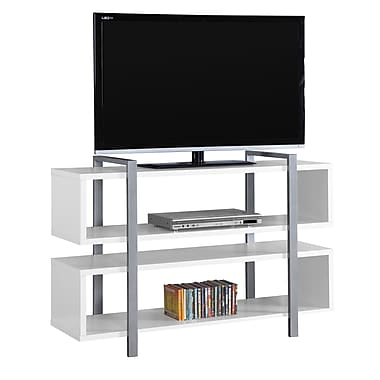 Monarch I 7183 Bookcase/TV Stand, 48