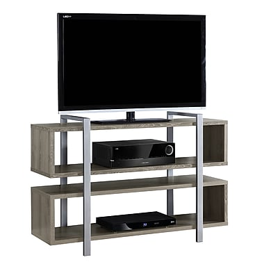 Monarch I 7184 Bookcase/TV Stand, 48