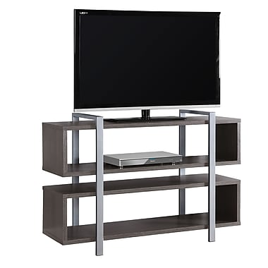 Monarch I 7185 Bookcase/TV Stand, 48