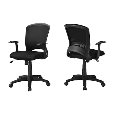 Monarch I 7265 Office Chair, Black