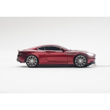 Click Car – Souris optique filaire Aston Martin DBS, rouge magnum, (CCM660516)