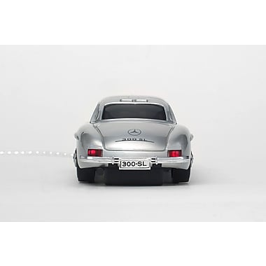 Click Car Mercedes Benz 300 SL Silver Wired Optical Mouse, (CCM660295)