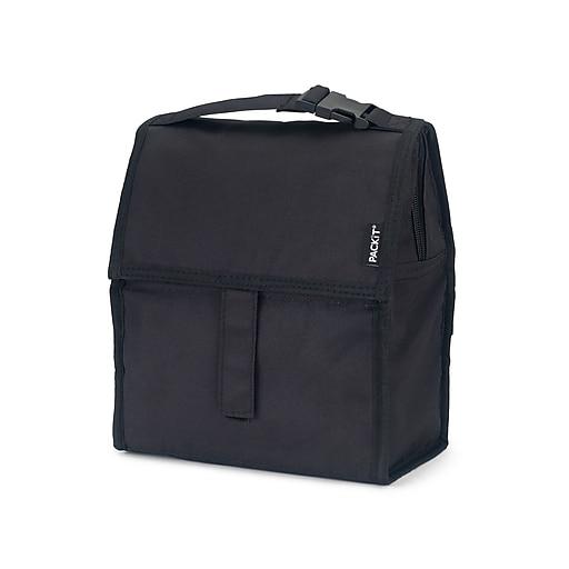 T Freezable Lunch Bag Black Pkt Pc Bla