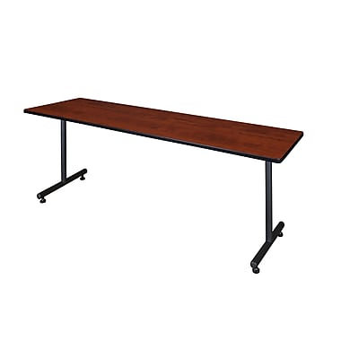 Regency Kobe 84'' Rectangular Training Table, Cherry (MKTRCT8424CH)