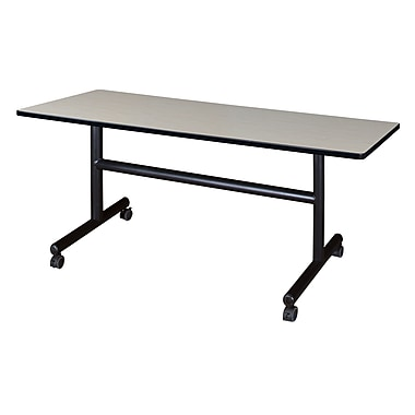 Regency Kobe 60'' Rectangular Flip Top Training Table, Maple (MKFT6030PL)