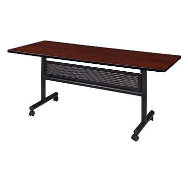 Regency Kobe 60'' Rectangular Flip Top Training Table, Cherry (MKFTM6030CH)