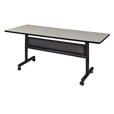 Regency Kobe 60'' Rectangular Flip Top Training Table, Maple (MKFTM6030PL)