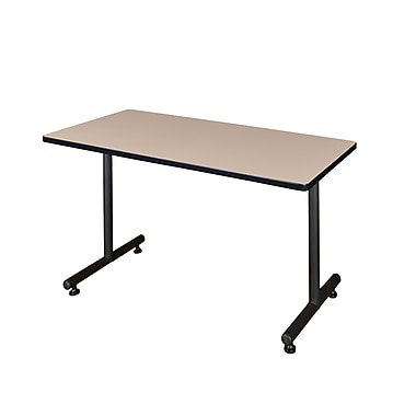Regency Kobe 48'' Rectangular Training Table, Beige (MKTRCT4830BE)