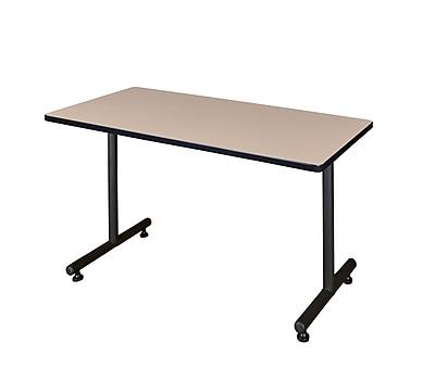 Regency Kobe 48'' Rectangular Training Table, Beige (MKTRCT4830BE)