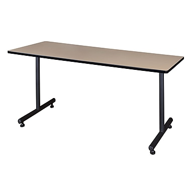 Regency Kobe 60'' Rectangular Training Table, Beige (MKTRCT6030BE)