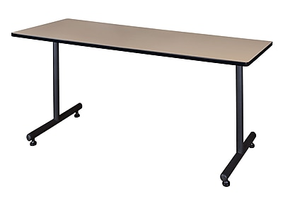Regency Kobe 72'' Rectangular Training Table, Beige (MKTRCT7230BE)