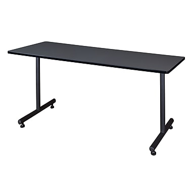 Regency Kobe 72'' Rectangular Training Table, Gray (MKTRCT7230GY)