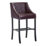 Zuo Modern Santa Ana Bar Chair Brown (WC98616)