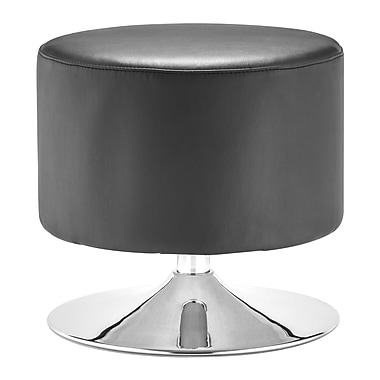 Zuo Modern Plump Ottoman Black (WC103020)