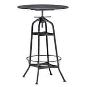 Zuo Modern Spartan Bar Table Antique Black (WC98125)