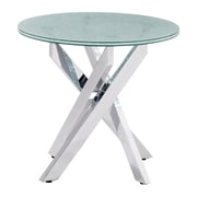 Zuo Modern Stance Side Table Crackled (WC102143)