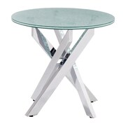 Stance Side Table Crackled (WC102143)