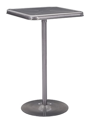 Zuo Modern Mallus Bar Table Gunmetal (WC109129)