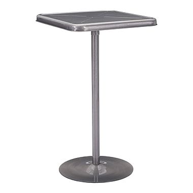 Zuo Modern Mallus Bar Table Gunmetal (WC109129)