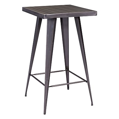 Zuo Modern Olympia Bar Table Gunmetal (WC601189)