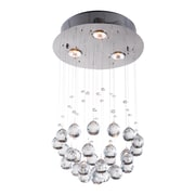 Zuo Modern Pollow Ceiling Lamp Clear (WC56028)