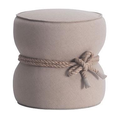Zuo Modern – Pouf Tubby, beige (WC13018)