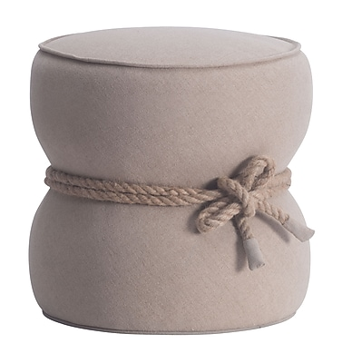 Zuo Modern Tubby Ottoman Beige (WC13018)