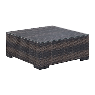 Zuo Modern Bocagrande Coffee Table Brown (WC701283)