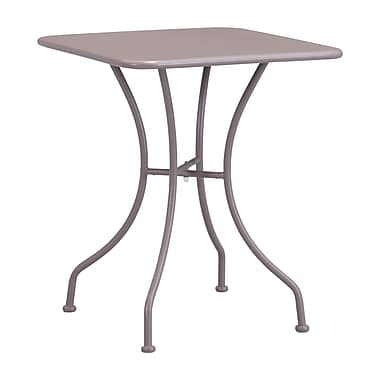 Zuo Modern Oz Dining Square Table Taupe WC703605