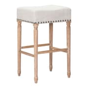 Zuo Modern Anaheim Barstool Beige (Set of 2) (WC98614)