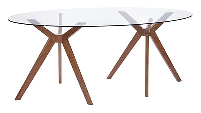 Zuo Modern Buena Vista Dining Table Walnut (WC100090)