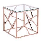 Zuo Modern Cage Side Table